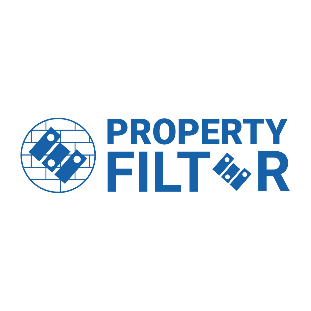Property Filter custom logo design